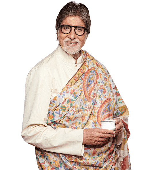 Amitabh Bacchan with Tea Valley